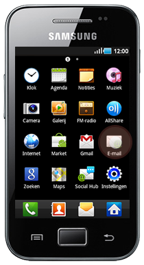 Samsung Galaxy screenshot 1